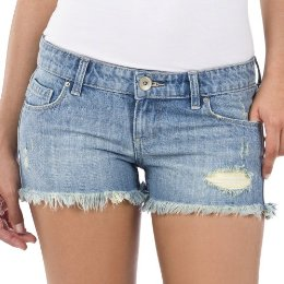 frayed jean shorts |